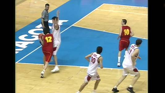 Campeonato de Europa Junior 2004: España-Turquía