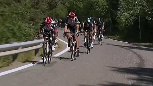 Vuelta ciclista a España 2017. 3ª etapa: Prades-Andorra
