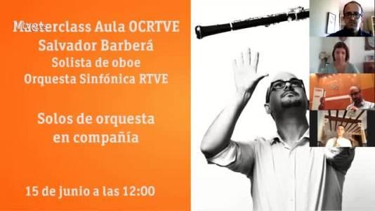 Masterclass Aula OCRTVE Salvador Barberá 15 junio