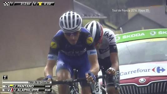 Tour de Francia 2016, 20ª etapa: Megève-Morzine