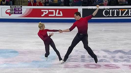 Campeonato del Mundo 2016. Programa libre parejas. Boston