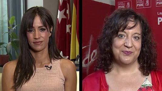 Begoña Villacís e Iratxe García