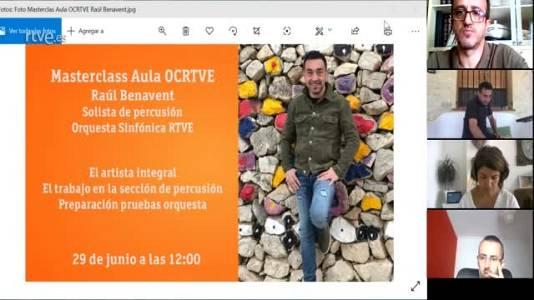 Masterclass Aula OCRTVE Raul Benavent 29 junio 2020