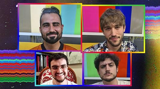 OK Playz con Guillermo y Shifer ('Héroes') y Ernesto Castro