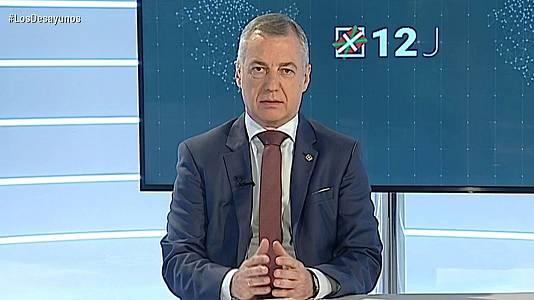 Los desayunos de TVE - Entrevistas electorales: Iñigo Urkullu, candidato de EAJ-PNV a Lehendari