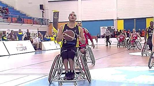 Baloncesto silla de ruedas - Copa del Rey 2016. Final