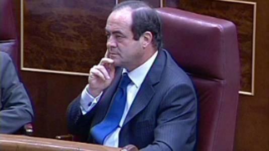 José Bono, elegido presidente del Congreso (2008)