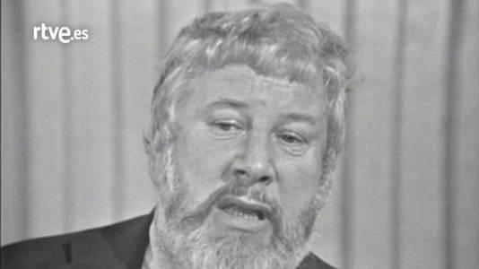 Peter Ustinov y Félix Revello de Toro