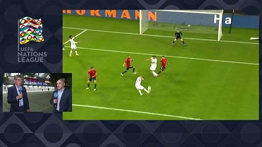 UEFA. Programa Postpartido: Alemania - España