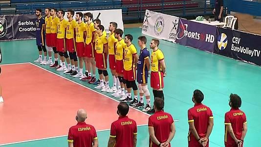 Clasificación Cto. de Europa masculino: Letonia-España