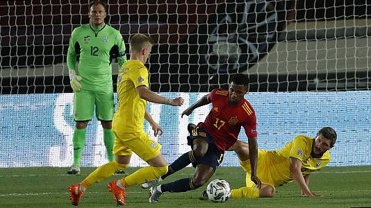 UEFA Nations League 2020: España - Ucrania