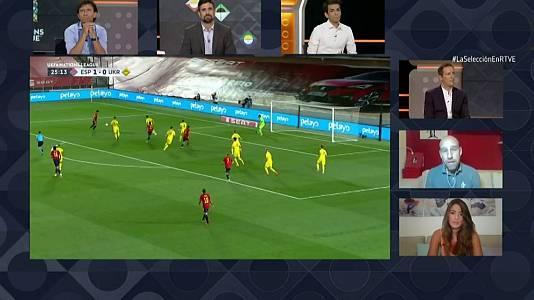 UEFA. Programa Postpartido: España - Ucrania