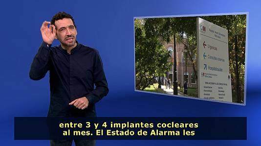 En lengua de signos - 11/10/20