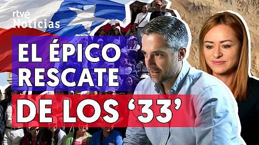 """El rescate de """"los 33"""" mineros chilenos, una década después"""