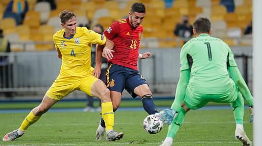 UEFA National League 2020. Partido: Ucrania-España