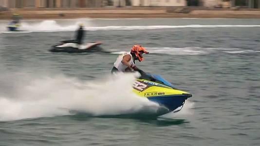 Camp.España motos de agua. Copa del Rey Motos agua y Flyski