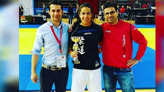Judo: Cristina Cabaña