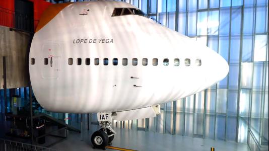 FECYT |  Piezas con Memoria: Alberto Seoane, Enrique Marchesi y el Boeing 747