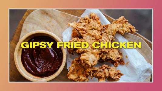 Gipsy Fried Chicken de Gipsy Chef. Cocina BESTIAL!