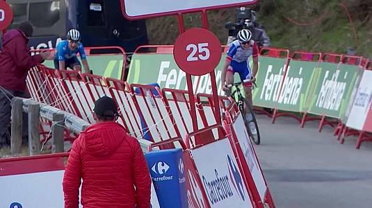 11ª etapa: Villaviciosa - Alto de La Farrapona (Podium)
