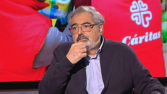 Eduard Sala, responsable d'Acció Social de Càritas Diocesana