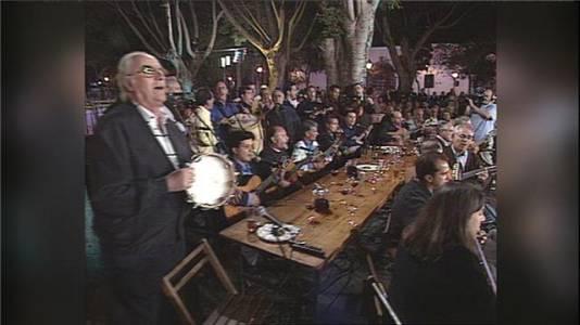 Tenderete - 08/11/2020  Los Sabandeños y A.F. Guadarfía en Inolvidables momentos de la historia de Tenderete 2001