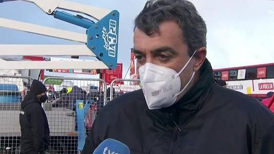 """Vuelta 2020   Javier Guillén: """"Nunca he llegado a pensar que no llegaríamos"""""""