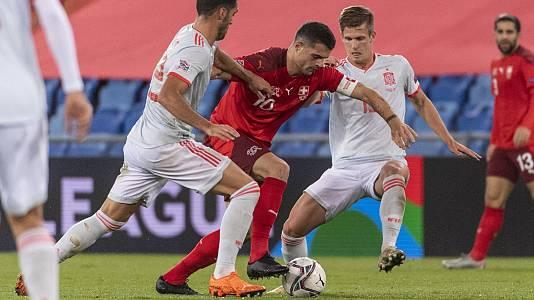 UEFA Nations League 2020.   Postpartido: Suiza - España