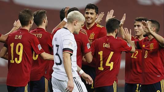 UEFA Nations League 2020.   Postpartido: España - Alemania