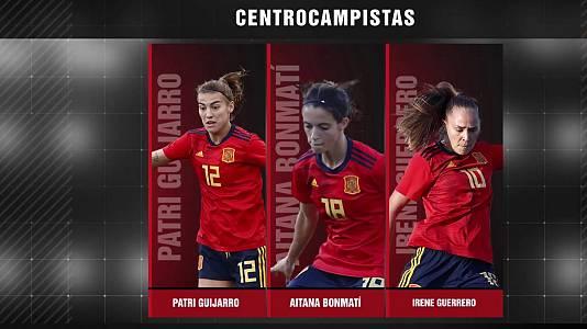 Presentación lista de convocadas Selección española femenina