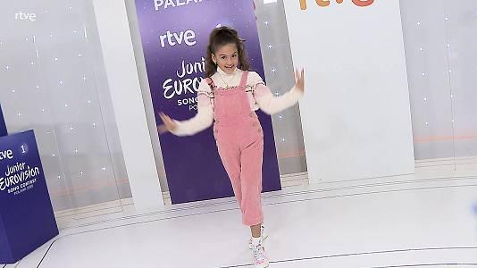 Soleá, en Eurovisión Junior 2020