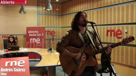Andrés Suárez, vídeo de 'Nina'