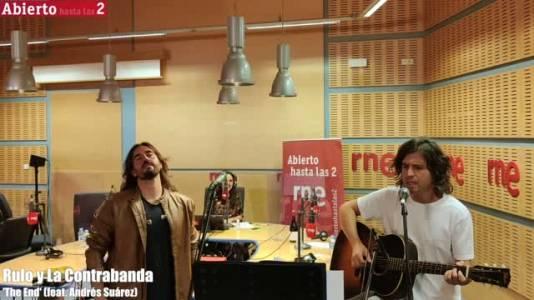 Andrés Suárez y Rulo y la contrabanda, vídeo de 'The End'