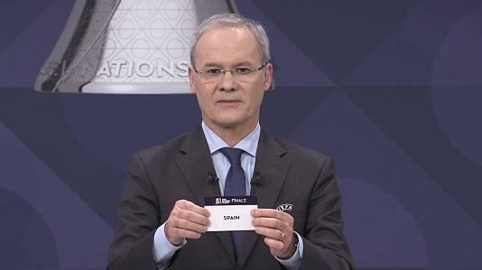UEFA. Sorteo semifinales Nations League