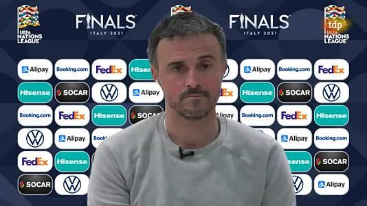 UEFA. Entrevista Luis Enrique