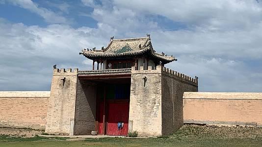Las huellas de G. Khan: El monasterio de Erdene Zuu