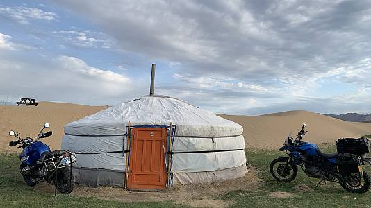 Las huellas de G. Khan: El desierto del Gobi