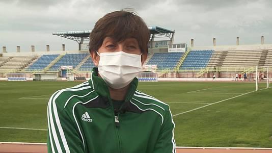 Ex árbitra de fútbol y atleta: Paloma Quintero
