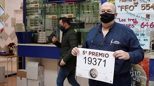 El tercer quinto premio de la Lotería de Navidad 2020, el 19.371
