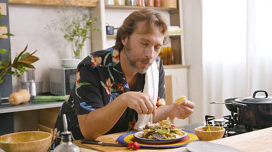 Chilaquiles de Gipsy Chef, un platillo mexicano tuneado