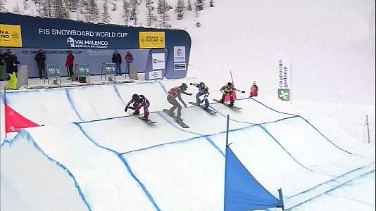 Copa del Mundo 2020/2021. Finales Snowboardcross - 23/01/21