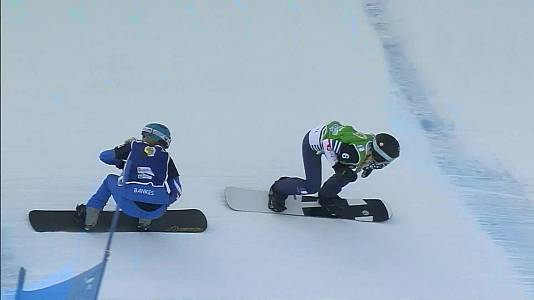 Copa del Mundo 2020/2021. Finales Snowboardcross - 24/01/21