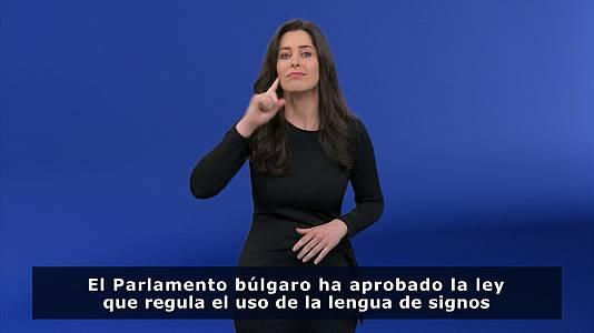 En lengua de signos - 31/01/21
