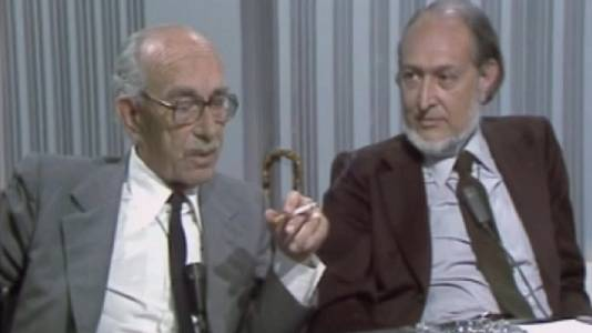 Jordi Maragall Noble i Josep Maria Castellet