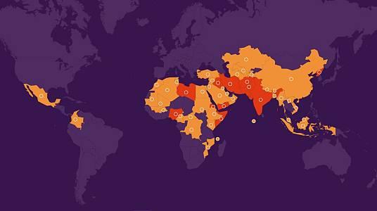 Lista mundial de la persecución 2021