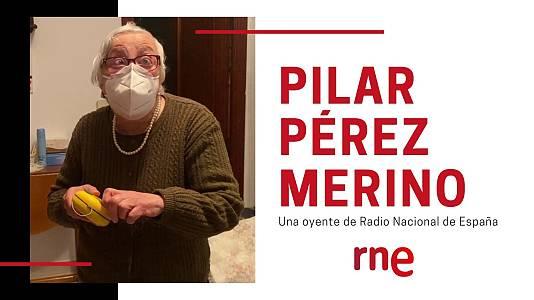 Pilar Pérez Merino, una oyente de Radio Nacional de España
