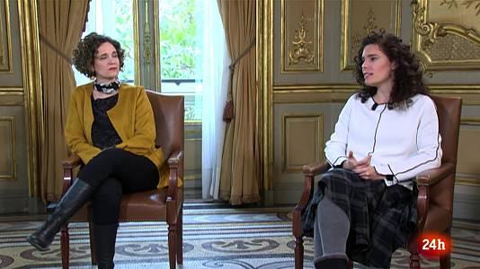 Heidi Hasán y Patricia Pérez