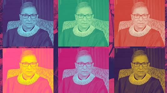 Ruth Bader Ginsburg: icono pop y guerrera legal