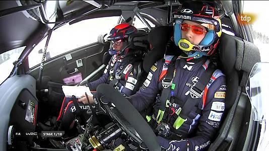 Campeonato del Mundo. Rally del Ártico. Resumen 1ª Etapa