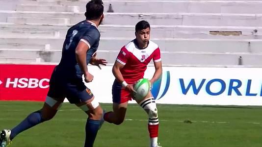 Torneo int. Sevens (masculino): Chile - España